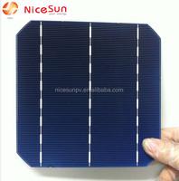 6*6 high efficiency mono solar cell