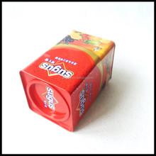sugar Rectangular Tin Box for metal sugar box packaging