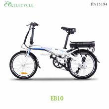 ELECYCLE EB10 mini folding electric bike bafang motor,kenda tire