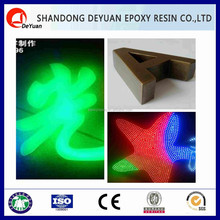 epoxy resin for led Luminous characters