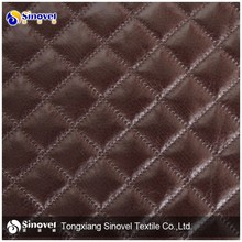 Wholesale Quilting Suede Fabric for Sofa/Jacket/Upholstery/Mattress