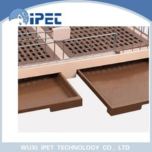 Ipet heavy-duty foldable two bottom display cat cages