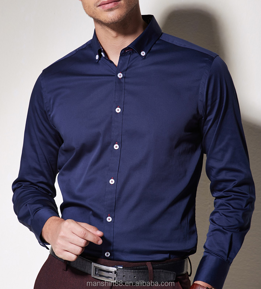 wholesale mens clothing new model shirt for men dress