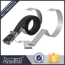 Good quality mirror polish belt display for retail