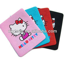 Hello kitty silicone case for mini iPad