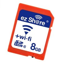 Class 10 Wireless SD Card 8GB Memory Card with Wifi APP Available for Mobile Phones