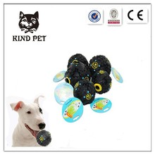 On sale Pet extreme Rubber Dog black Chew ball Toy