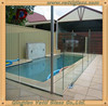 10mm Tempered Glass Fence Panels Price For Greenhouse, Frameless Glass Pool Fencing/Tempered Glass Pool Fence Panels