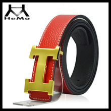 new classic fashion belt with genuine leather for wholesale