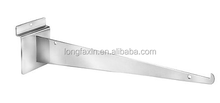 "8""Slatwall Shelf Brackets Colors: black, white, chrome"