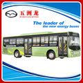 30 plazas híbrido de combustible city bus dimensión 11.5 M