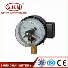 economy type brass socket contact pressure gauge
