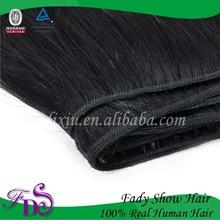 Wholesale Silky Straight hair,100% remy virgin human hair extension, saga remy hair extensions