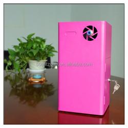 Portable essential oil aroma diffuser for family