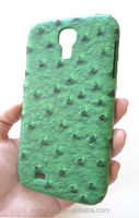 Designer Green Ostrich Leather Case Cover Samsung Galaxy S 4 IV i9500