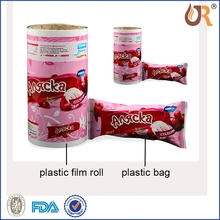 OEM Factory stand up daily stuff packaging plastic bag