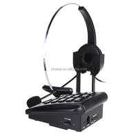call center headset telephone equipment