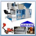Bloco de concreto celular máquinas qmy10-15 bloco deitado mobile máquina de tijolo de cimento que faz a máquina
