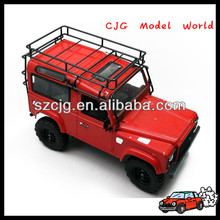 China rc chassis frame manufacturers supply D90 model aluminum rc car chassis in cheap price