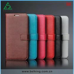 High-end Photo Frame Wallet Case For Samsung S6, For Samsung S6 Flip Wallet Mobile High Quality Case