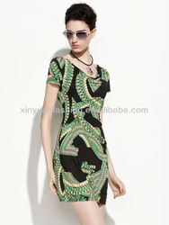 New Fashion Roman Evening Style Bodycon Evening Dress