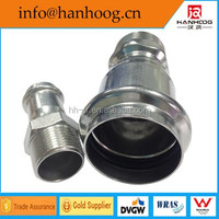 Stainless Steel Male coupling straight connector hydraulic hose fitting
