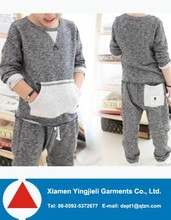 Europe style baby last design anime hoodies clothing sets