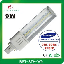 2013 High Quality 9W G24 Base LED Lamp, G24 LED Lamp, PL LED G24 Light