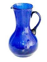 Hand Made Blue Glass