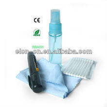 pen spray glasses cleaner and printed logo microfiber cleaning cloth