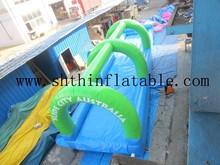 singe lane inflatable slip and slide