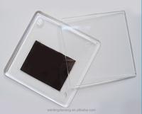 77*52mm acrylic fridge magnet