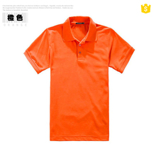 2015 cheap price 100% polyester men's polo t-shirt manufacture in china