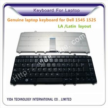 LA /Latin layout laptop keyboard for Dell inspiron 1545 1540 1525 1420 notebook black color
