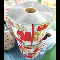 gravure printed laminating pouch roll film packaging material