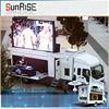 2015 popular mobile led screen trailer /stage mobile led display trailer /high brightness led display video billboard