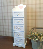 Wooden furniture white color furniture Chest /Cabinet