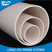 Worth buying hot products 4m,5.8m or customized length rigid white plastic tube