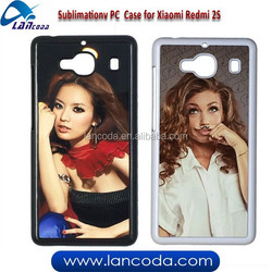 Lancoda sublimation phone case for Xiaomi Redmi 2S,sublimation phone cover,2d sublimation case