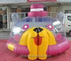 Kids Inflatable cartoon costume jumping dome bouncer