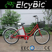 "Luxury product city 36V lead acid battery 24"" electric bicycle(E-TDH07A)"