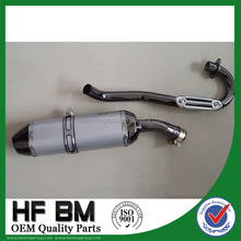 high performance 250cc, 400cc motor bike exhaust silencer, aluminium alloy muffler silencer, used motorcycle exhaust