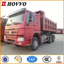 China SINOTRUK HOWO 6*4 Dump Truck Tipper Truck Left Hand Steering Vehicle