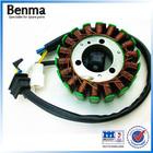 Gn125-18 classe moto magnetor gerador bobina rotor e assy do estator