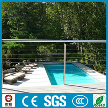 stainless steel cable stair railing fairing for sales
