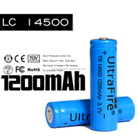 Hot selling!!Rechargeable lithium 14500 battery,aa li-ion battery suit for electric tools