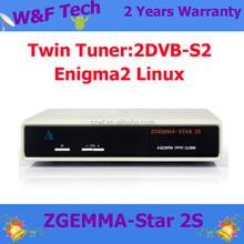 Wholesale for zgemma-star 2s 700 MHz USB2.0 hd combo dvb-s2 satellite receiver zgemma star 2s
