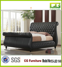 Images of Quilted Stylish Double Bed Frames CG-LBD 1048