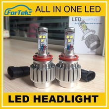 Customize package graphic all in one CREE led headlight bulb h11 for auto&truck replacement bulb