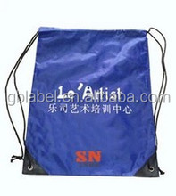 custom cheap nylon polyester drawstring bag